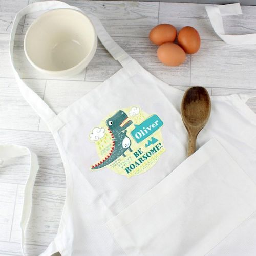 Dinosaur Children's Apron